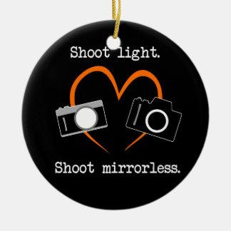 Ornement de Noël d'appareil-photo de Mirrorless