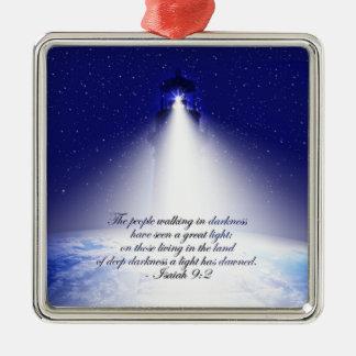 Ornement de Noël de 9:2 d'Isaïe