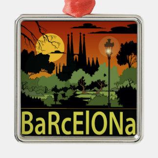 Ornement de Noël de Barcelone