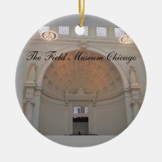 Ornement de Noël de Chicago de musée de The Field