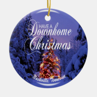 Ornement de Noël de Downhome Nashville