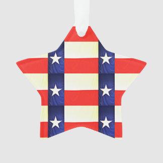 Ornement de Noël de drapeau du Texas