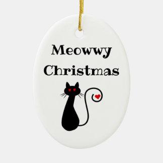 Ornement de Noël de Meowwy