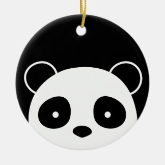 Ornement de Noël de panda, décorations de Noël