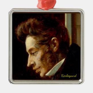 Ornement de Noël de portrait de Soren Kierkegaard