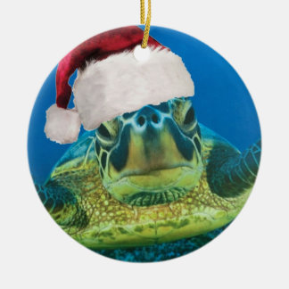 Ornement de Noël de tortue