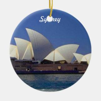 Ornement de Noël de voyage de Sydney Australie