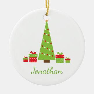 Ornement de Noël personnalisé par Noël d'amusement