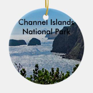 Ornement de parc national des Îles Anglo-Normandes