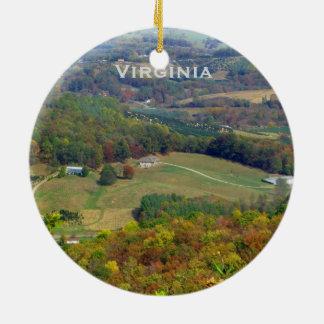 Ornement de paysage de la Virginie