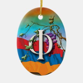 """Ornement de """"Pur"""" d'initiales d'alphabet arménien"""