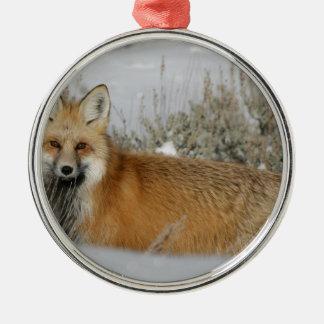 ornement de renard rouge