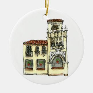 Ornement de São Carlos la Californie - bâtiment de