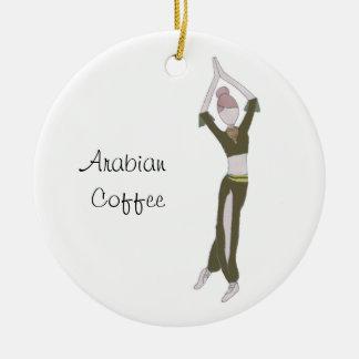 Ornement de souvenir de café Arabe de casse-noix