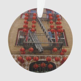 Ornement de temple de San Francisco Chinatown