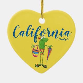 Ornement de vacances : La Californie