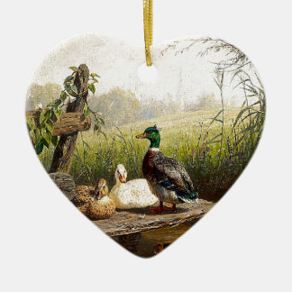 Ornement d'étang d'animaux de faune d'oiseaux de