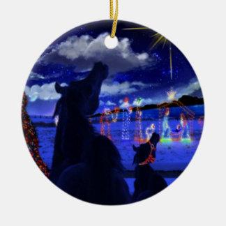 Ornement d'étoile de Noël