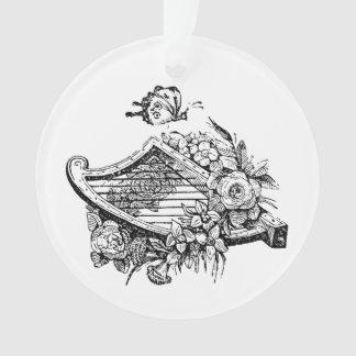 Ornement d'harpe