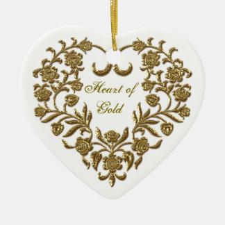 Ornement du coeur de Valentine de Flourish de