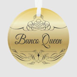 Ornement élégant de Bunco avec le gradient d'or