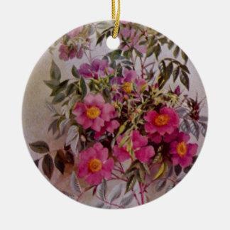 Ornement en céramique botanique | de fleur sauvage
