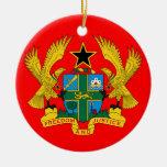 Ornement en céramique de Noël de GHANA*