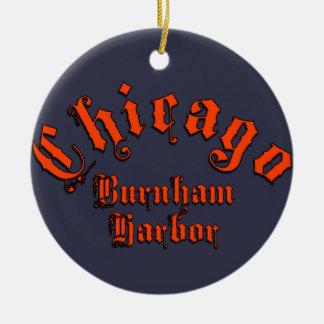 Ornement en céramique de port de Burnham
