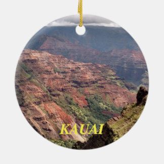 Ornement en céramique pittoresque de Kauai