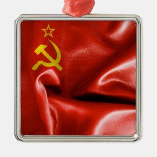 Ornement en métal de drapeau d'Union Soviétique