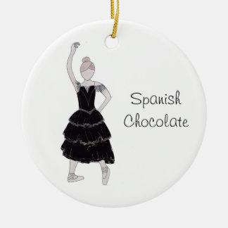 Ornement espagnol de souvenir de chocolat de