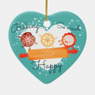 Ornement espiègle de Noël de goupille de biscuits