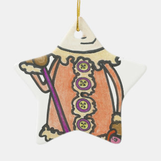 Ornement Étoile En Céramique Akiou le petit inuit