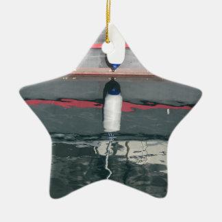 Ornement Étoile En Céramique Amortisseurs de bateau accrochant sur le conseil