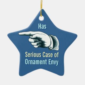 Ornement Étoile En Céramique Arbre de Noël drôle