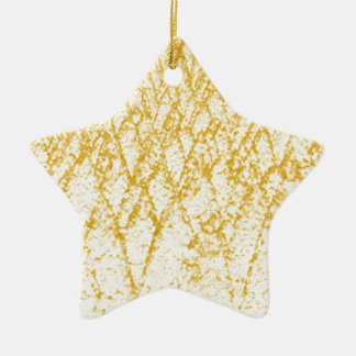 Ornement Étoile En Céramique arbres bruns