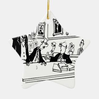 Ornement Étoile En Céramique Bande dessinée 5488 de Lincoln