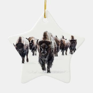 Ornement Étoile En Céramique Buffalo