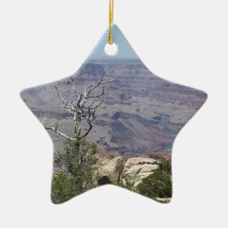 Ornement Étoile En Céramique Canyon grand Arizona