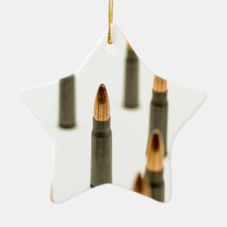 Ornement Étoile En Céramique Cartouche 7.62x39 d'AK47 de balle de munitions