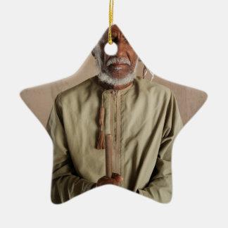 Ornement Étoile En Céramique Cas omanais de téléphone de guerrier