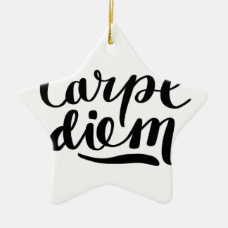 Ornement Étoile En Céramique Chemises de CARPE DIEM, accessoires, cadeaux