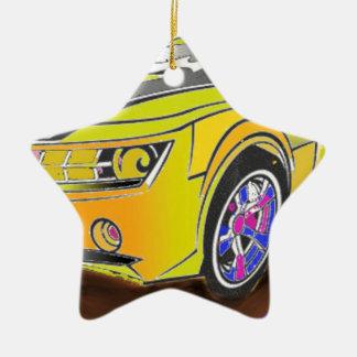 Ornement Étoile En Céramique Chevy Camero