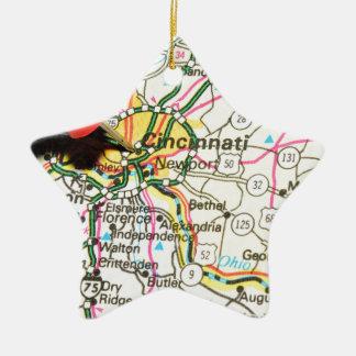 Ornement Étoile En Céramique Cincinnati