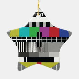 Ornement Étoile En Céramique Common Essai PAL TV