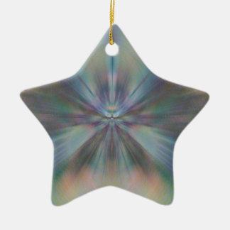 Ornement Étoile En Céramique Convergence de Peacful