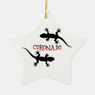 Ornement Étoile En Céramique Coronado la Californie