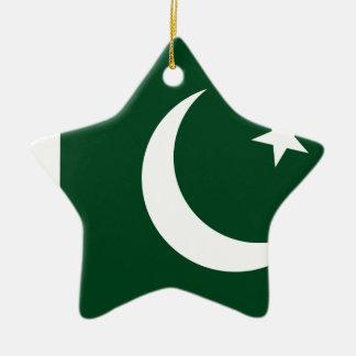 Ornement Étoile En Céramique Coût bas ! Drapeau du Pakistan