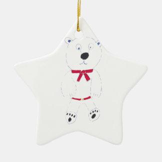 Ornement Étoile En Céramique Décoration d'arbre de Noël d'étoile de Barry