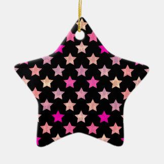 Ornement Étoile En Céramique Étoiles colorées II